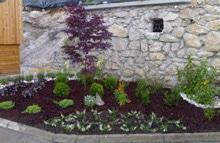 Zasaditev cvetlične grede